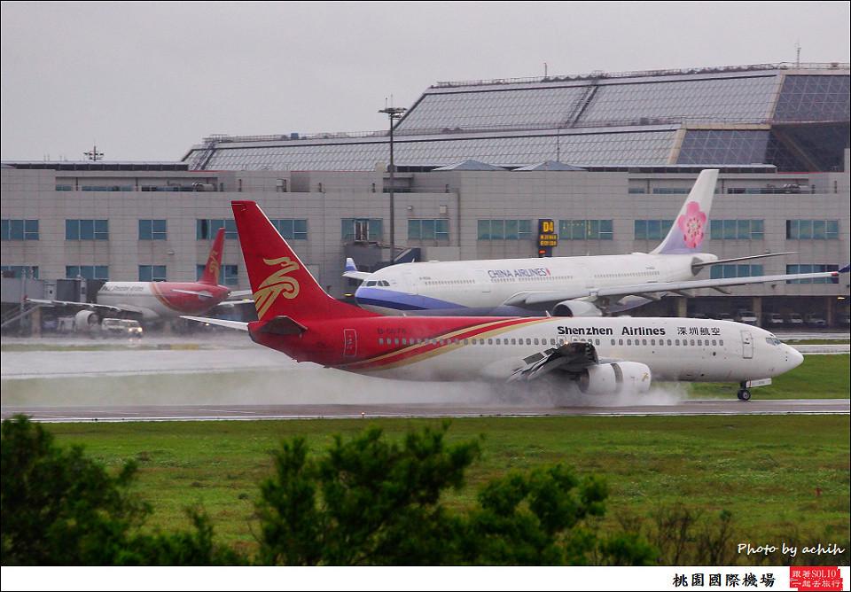 深圳航空B-5078客機004