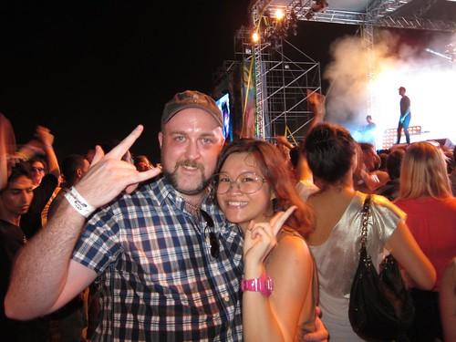 Me & Kim at FMFA 2012