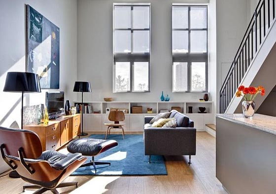 Living-Room-Interior-of-Riverdale-Loft-Apartment-by-Beauparlant-Design
