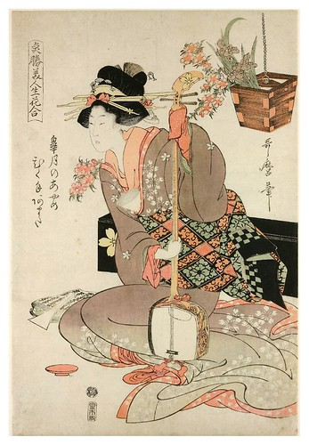 024-Gehisa con un samisen-1801-1817 -Kitagawa Utamaro- © The Trustees of the British Museum