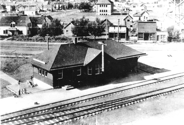 Railroad Depot St Anthony Idaho