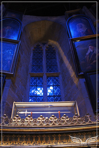 The Establishing Shot: The Making of Harry Potter Tour - Interior Sets - Dumbledore's Office - The Sword of Gryffindor by Craig Grobler