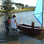ozracerRV - simplest possible sailing boat, detailed cheap plan