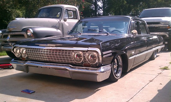 63 impala juiced lowrider sled possible trades. Black Bedroom Furniture Sets. Home Design Ideas