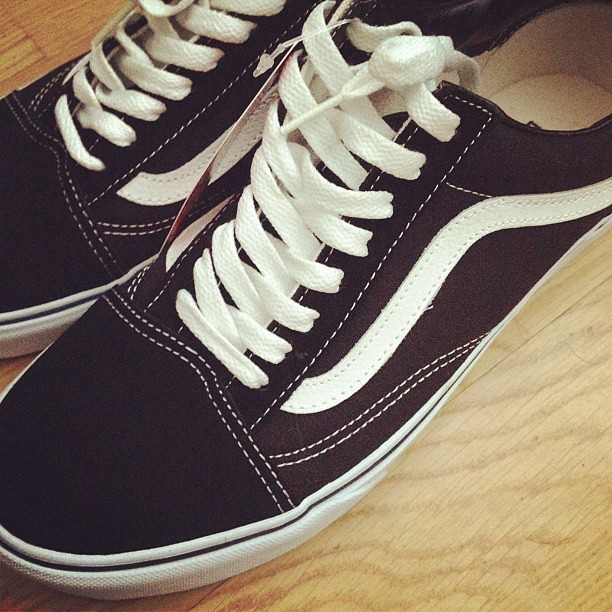 Vans Skate Shoes Trainers Vulcanized Demitasse Black Brown Vn Ozar