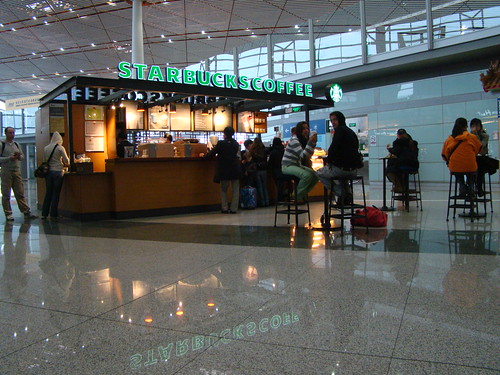 Starbucks ~ Bejing Airport