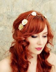 Beautiful hair, Fairy vines-floral hair clip