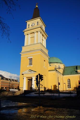 winter church suomi finland geotagged cathedral sofia catedral iglesia invierno oulu scandinavia magdalena finlandia escandinavia luciojosemartinezgonzalez northernostrobothnia luciokeywordsjosekeywordsmartinezkeywordsgonzalez geo:lat=650151153333333 geo:lon=254741806666667