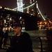 Ken with Bokehed Brooklyn Bridge by Slow Little Photo
