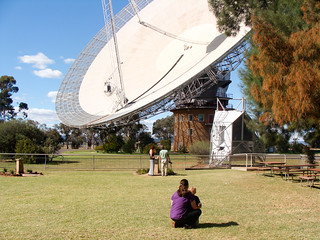 At  CSIRO Parkes radio telescope