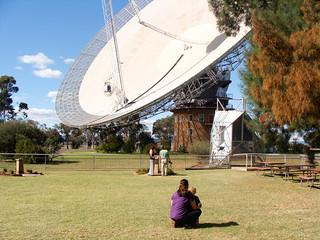 At CSIRO Parkes radio telescope