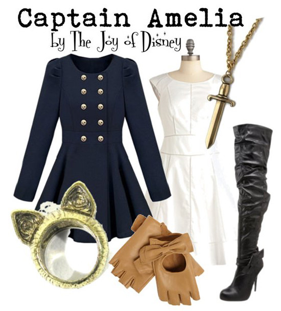 Inspired by: Captain Amelia (Treasure Planet)