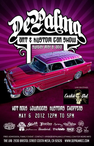 2012 ~ DePalma Art & Kustom Car Show ~ Costa Mesa ~ May 6th 2012  by nobueno