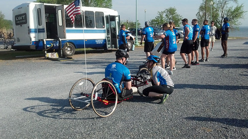 Wounded Warriors Soldier Ride Event, Rose Haven, Maryland, April 21, 2012