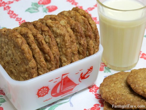 Soft and Chewy Oatmeal Coconut Cookies made with unsweetened coconut
