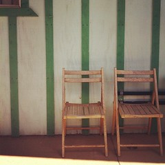 the right stripes #stripes #green #chair #instagram #iphone