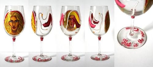 Carrie wine glass