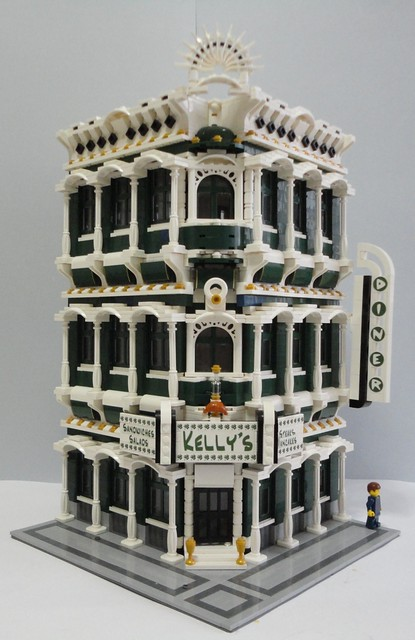 LEGO Moc Modular Kellys Corner 000