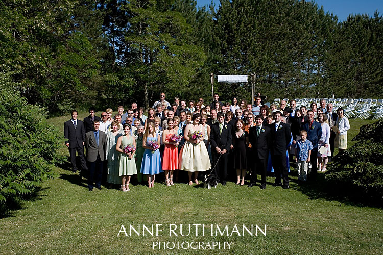 Large Group Wedding Photo 6