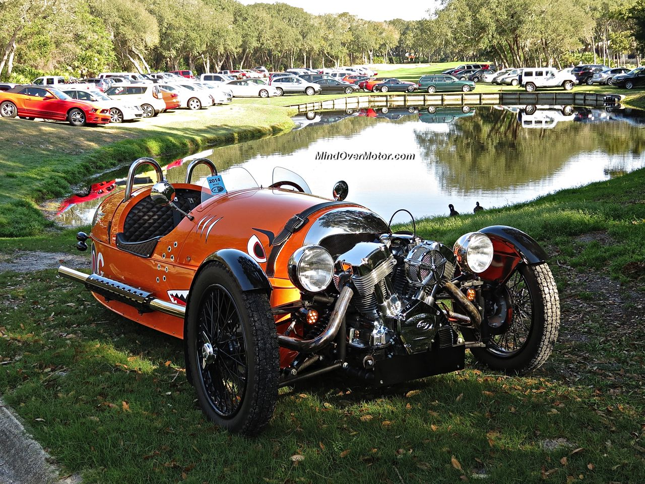 morgan 3 wheeler spotted at amelia island mind over motor. Black Bedroom Furniture Sets. Home Design Ideas