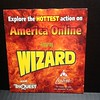 AOL disc for Wizard World in 1998.