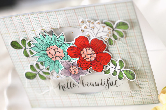 hello beautiful {summer garden blog hop}