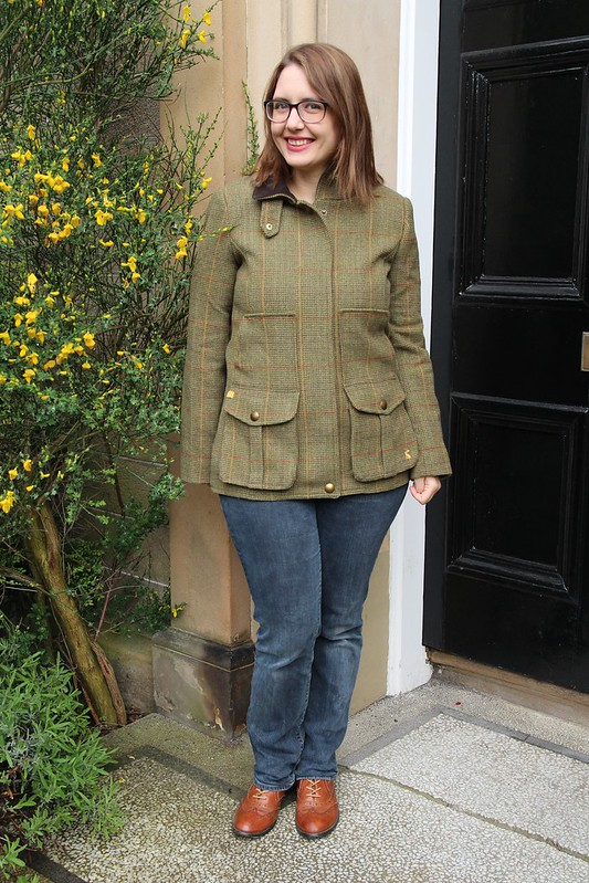 Joules tweed jacket