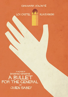 A Bullet for the General - Movie with Klaus Kinski, Gian Maria Volonté. A Spaghetti Western Poster