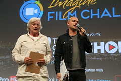 Rutger Hauer and Dominic Patten