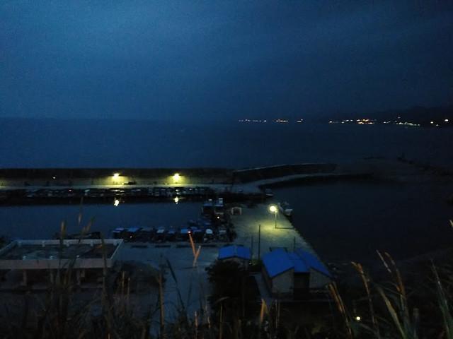 長濱漁港天光