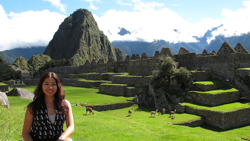 Pinay on top of Machu Picchu2