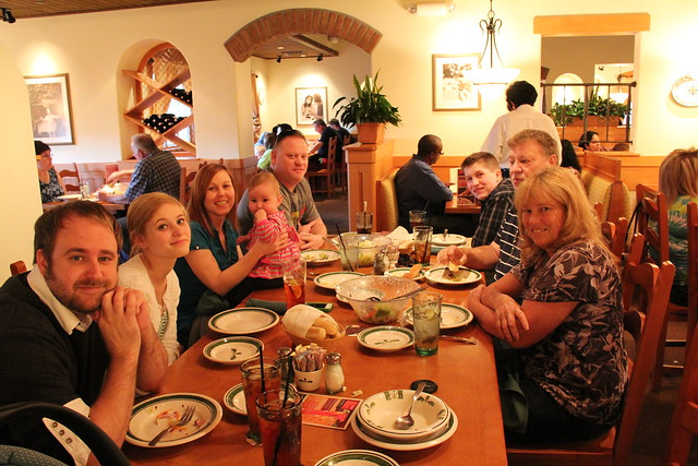 Birthday Dinner At Olive Garden Flickr Photo Sharing