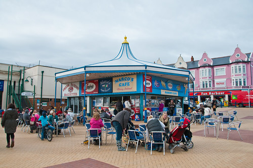 Marco's Cafe, Barry Island, Wales