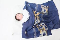 Alan Yoshiyuki in a Baby Kimono