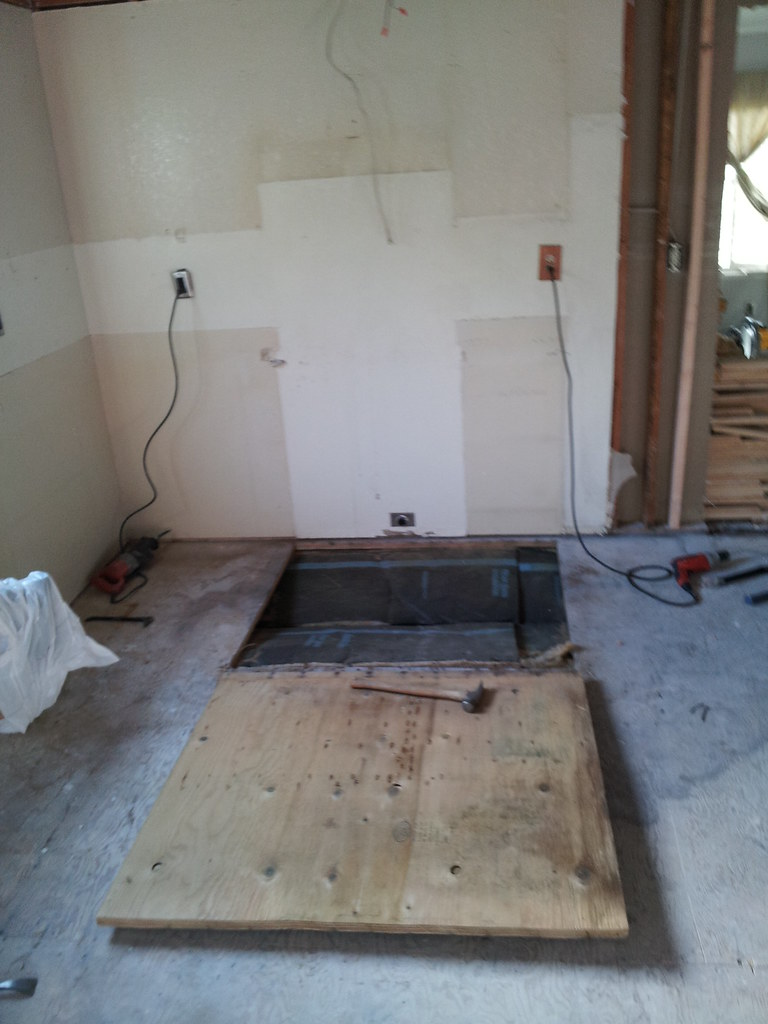 Fixing subflooring