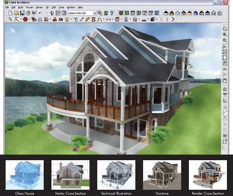 Los 10 programas de cad mas usados en el campo de la for Aplicaciones para crear casas en 3d