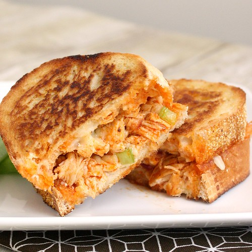 Buffalo Chicken Grilled Cheese | Tracey's Culinary Adventures