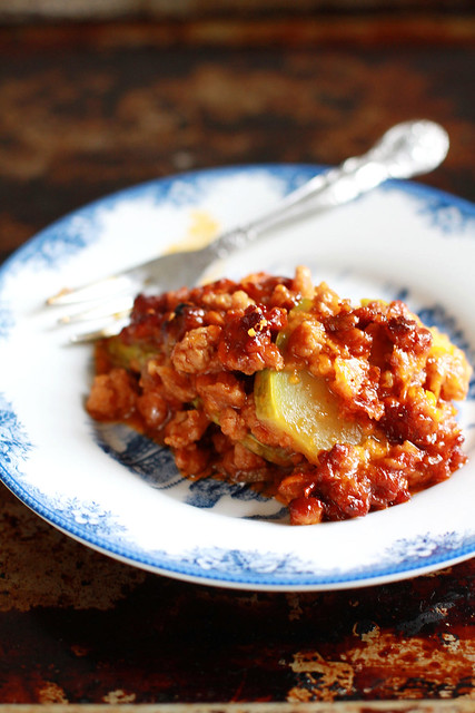 Low Carb Zucchini Bistik Lasagna