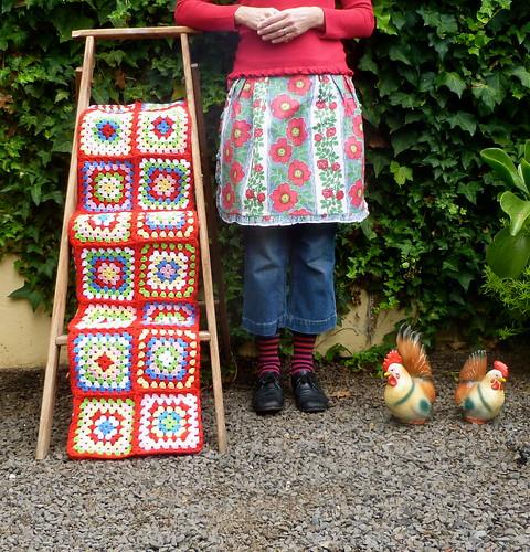 Granny Square Blanket...