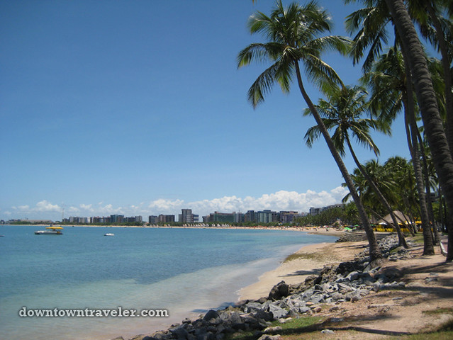 Maceio beach Brazil