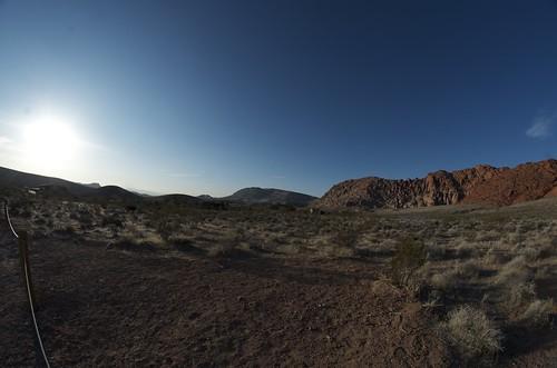 redrockcanyon road mountain sunrise raw nv