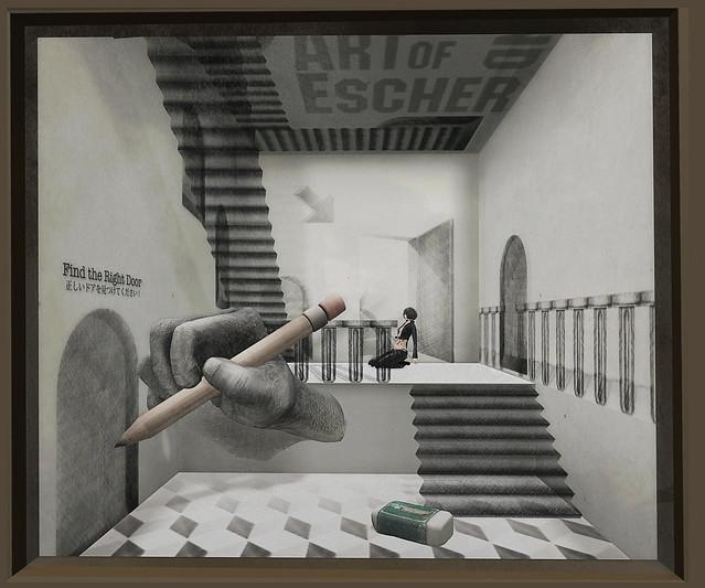 @ Forgotten City - Art Of Escher