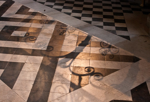 Lights and shadows in Worcester Cathedral 3