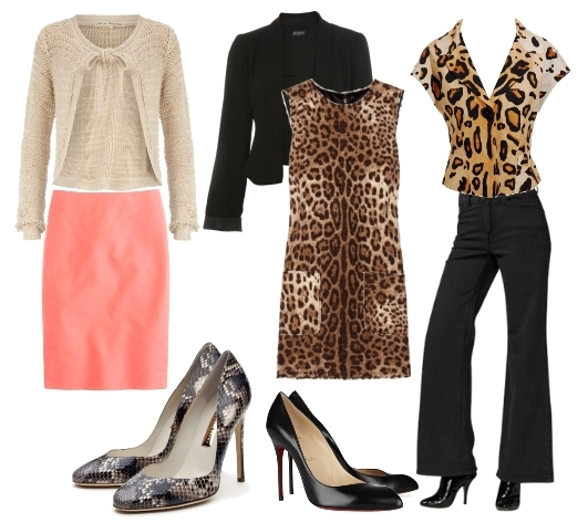 animal print for office