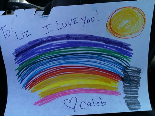 Tornado, Rainbow, and Sun
