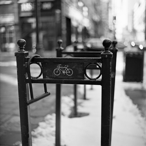 Calgary Photowalk - Bike Stand