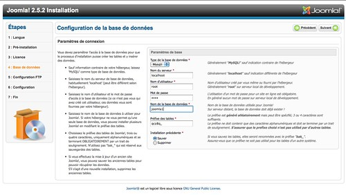 installation-joomla-base-de-donnees