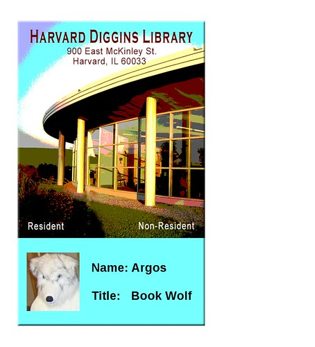 Library ID badge - Argos
