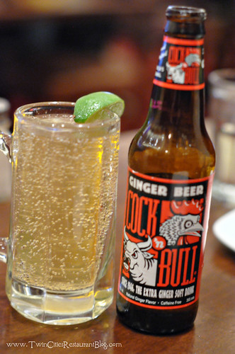 Cock N Bull Ginger Beer at Mystic Steakhouse ~ Prior Lake, MN