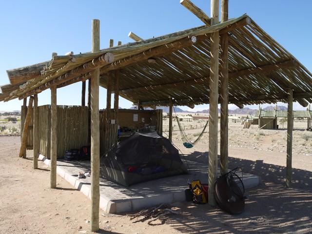 Ensuite campsite Sessriem